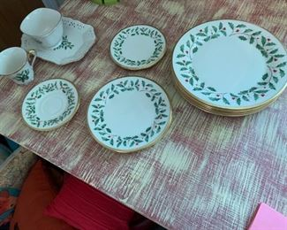 Lenox Holiday Pattern China