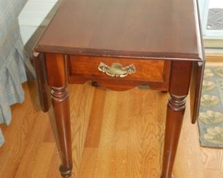 Side table with drawer (one of two)