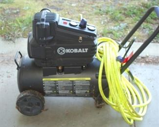 Kobalt portable air compressor