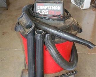 Craftsman 5.25 shop vacuum