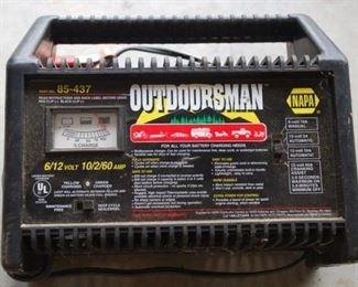 Outdoorsman battery charger 6/12 Volt, 10/2/60 amp