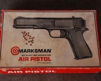 Vintage Marksman Air Pistol