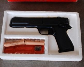 Gun in box