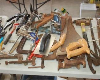 More hand tools, note vintage items!