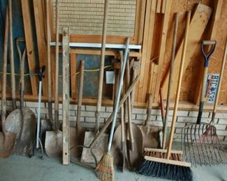 Yard tools!