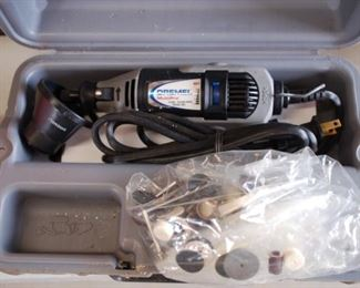 Dremel tool with attachments
