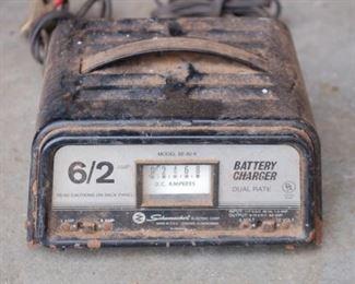 Schumaker Battery charger 6/2 amp