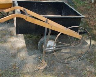 Vintage push plow