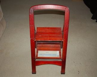 Perfect Home two step wooden step stool