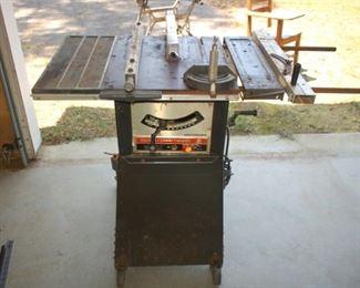 "Sears Craftsman 9"" table saw"