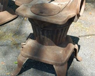 Rex 84-A 1920's pot belly coal stove