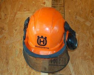 Husqvarna safety helment/shield