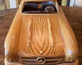 Holztechnik Mercedes Wood model 300 SL	34in Long		(Purchased directly from Daimler Chrysler in Germany 2005 for $1,300.00.)