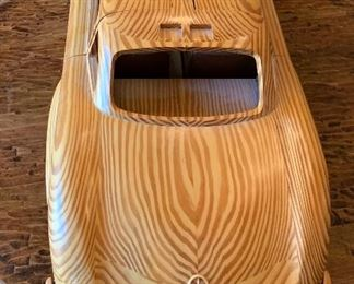 Holztechnik Mercedes Wood model 300 SL34in Long(Purchased directly from Daimler Chrysler in Germany 2005 for $1,300.00.)