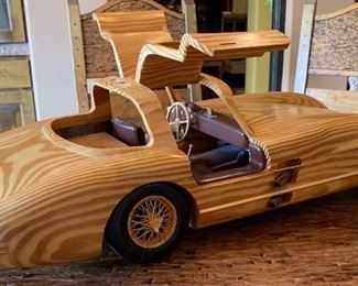Holztechnik Mercedes model 300 SLR32in Long(Purchased directly from Daimler Chrysler in Germany 2005 for $1,300.00)