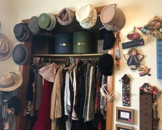 Vintage Clothing and Hats
