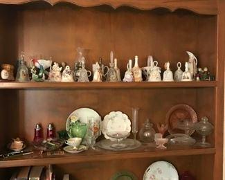Bells and glassware