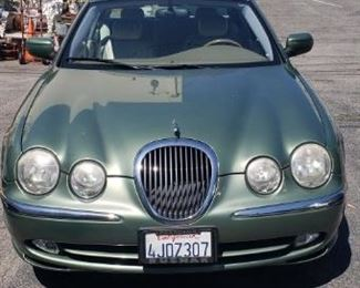 2000  JAGUAR 3LITER S TYPE ,4 DOOR SEDAN, 86707 MILES 1 OWNER.  Great shape..We are reselling this item  call for apt