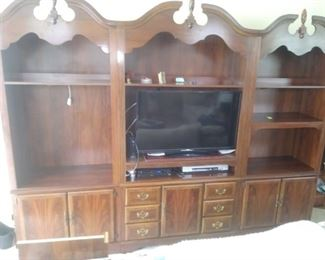 Three piece hutch. Will sell each piece individually