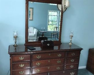 Pennsylvania House dresser with mirror