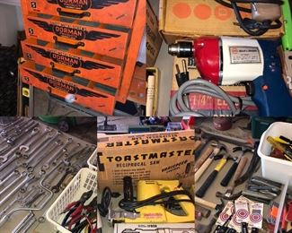 A full garage of tools!