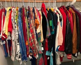 1940s to the 1990s! Vintage clothes heaven!