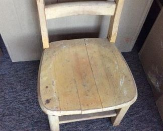 Wooden Youth Chair