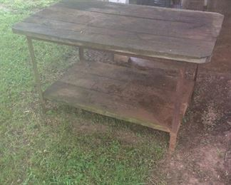 Nice solid Primitive Table