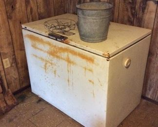 Good working Chest Freezer , SOLD