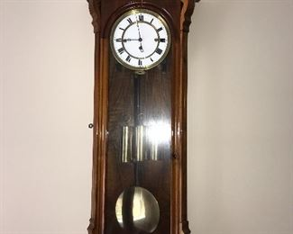 ANTIQUE LARGE GERMAN VIENNA WALL CLOCK