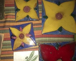 HANDCRAFTED POTTERY TILES