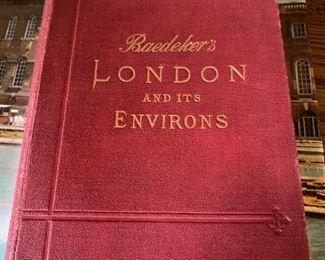 BAEDEKER'S LONDON AND ITS ENVIRONS 1911