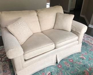 pure white sofa is ready for your proposal
