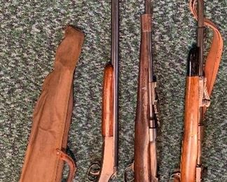 Vintage  military rifles and 2 non military long guns. MUST HAVE VALID ID TO PURCHASE ANY OF THEM.