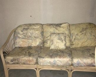 3 seats sofa bamboo