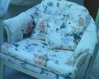 SEVERAL NICE  ARM CHAIRS