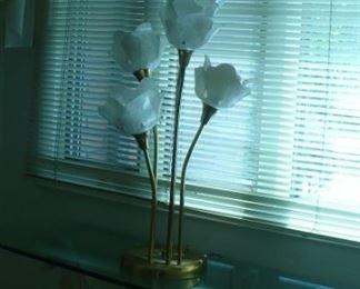 4 stem lamp