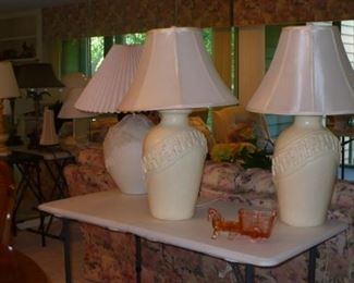 SEVERAL NICE LAMPS