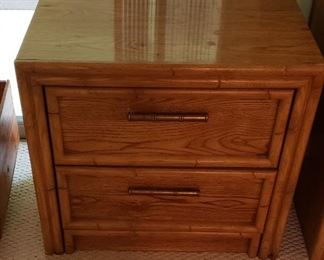 Lea two drawer chest