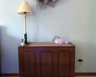 This is a sewing machine table!