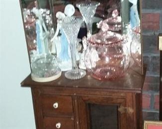 Vintage Child's Cabinet