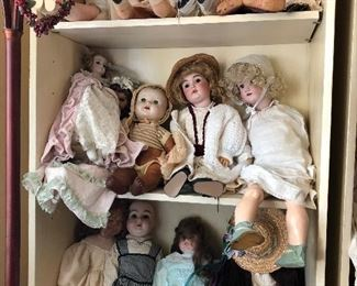 Doll Collection - Just A Few Samples