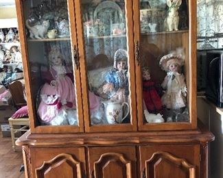 China Hutch, Dolls, Disneyana