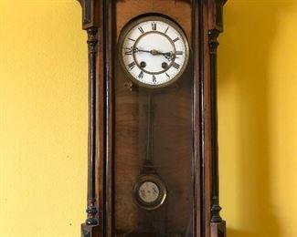 Turn of the Century Lenzkirch Clock
