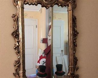 Fancy Baroque Style Mirror