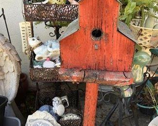 Folksy Bird House