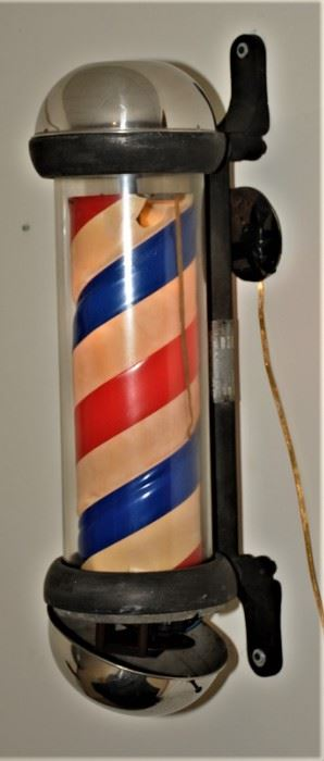 Theo Kochs Revolving Barber Pole