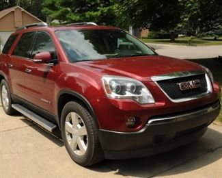 2008 GMC ACADIA  STA-WAGON LOW MILEAGE GARAGED