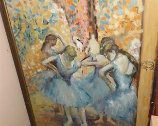 Rocco Pisto painting