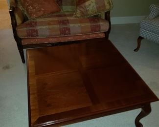 Coffee table; Settee